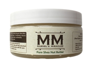Pure Organic Shea Butter from Africa 7oz